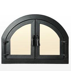 Дверца чугунная со стеклом Weekend - Barbecue
