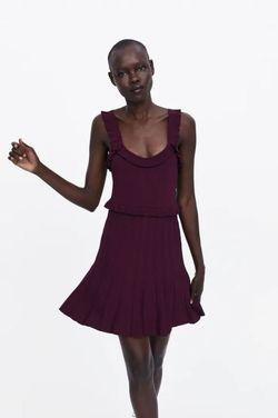 Платье ZARA Бордо 2488/019/681