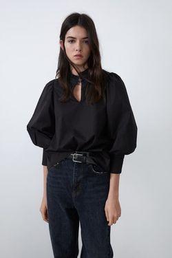 Блуза ZARA Чёрный 0881/136/800 zara