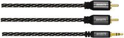 купить Кабель для AV Hama 127080 Audio Cable, 2 RCA Plug - 3.5 mm Jack Plug, Stereo, 3.0 m в Кишинёве