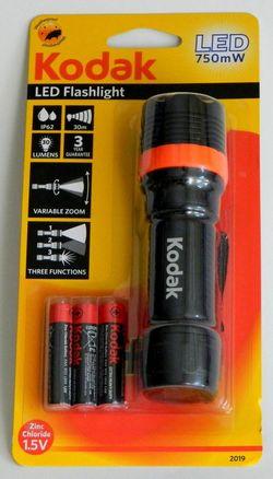 купить Фонарь Kodak LED Focus 120 Flashlight 750mW Bk+3AAA EHD в Кишинёве
