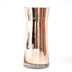 Декоративная ваза, Стекло, 28см, Медь