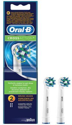 cumpără Accesoriu perie de dinți Oral-B Cross Action 2pcs în Chișinău