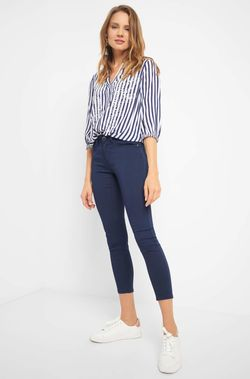 Pantaloni ORSAY Albastru inchis 372079 orsay