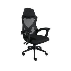 Офисное кресло 6761 черное сетка черная