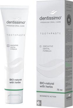 cumpără Pastă de dinţi Dentissimo A04001 Bio-Natural with herbs,75ml în Chișinău