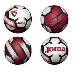 Футбольный мяч JOMA -  TORINO BURDEOS size 5