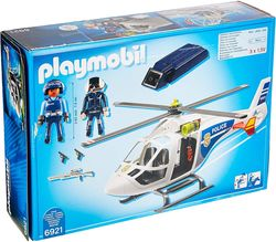 Police Helicopter with LED Searchlight, PM6921