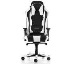 Игровое кресло DXRacer Sentinel GC-S28-NW, черный / белый,