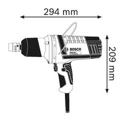 Гайковерт Bosch GDS 18 E Professional (B0601444000)