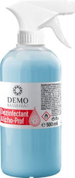 * Dezinfectant pe baza de alcool 500 ml spray