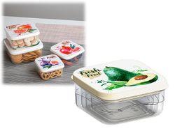 Набор контейнеров пищевых Phibo 4 шт 0.3l, 0.45l, 0.65l, 1l