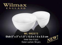 Салатница WILMAX WL-992572 (для закусок 12,5 x 7,5 x 3,5 см)