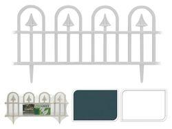 Gard decorativ pentru curte/gradina 59X30cm, 4buc