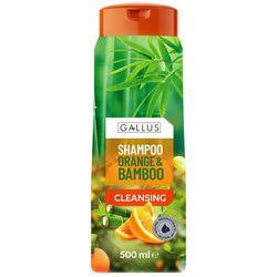 Шампунь для волос Gallus очищающий Orange & Bamboo 500 мл