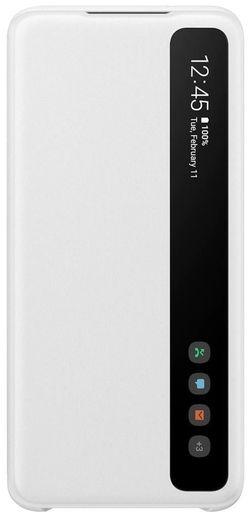 cumpără Husă telefon Samsung EF-ZG980 Clear View Cover White în Chișinău