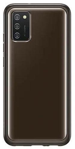 cumpără Husă pentru smartphone Samsung EF-QA025 Soft Clear Cover Black în Chișinău