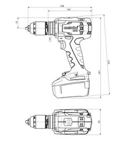 Шуруповерт Metabo BS 18 LTX Impuls (602191500)