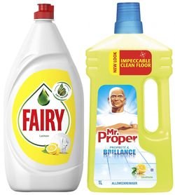cumpără Detergent veselă Fairy 5137/4539 Lem 1.3L+ MR.Prop Lem 1L în Chișinău