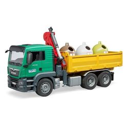 Camion de gunoi MAN TGS cu trei containere, cod 43262