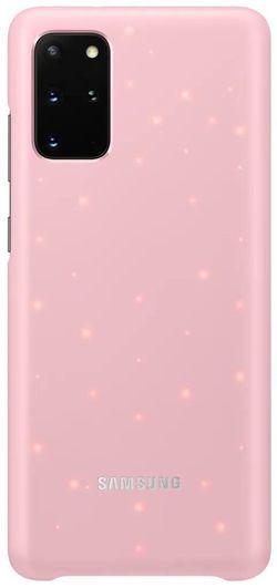 купить Чехол для моб.устройства Samsung EF-KG985 LED Cover Pink в Кишинёве