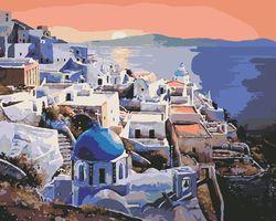 Apusul în Santorini