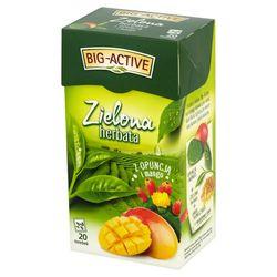 Чай зеленый Big Active with Opunia & Mango, 20 шт