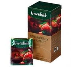 Ceai Greenfield Strawberry Gourmet