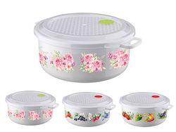 Container pentru frigider/MVP Phibo 3l, D23cm, H11cm, cu supapa