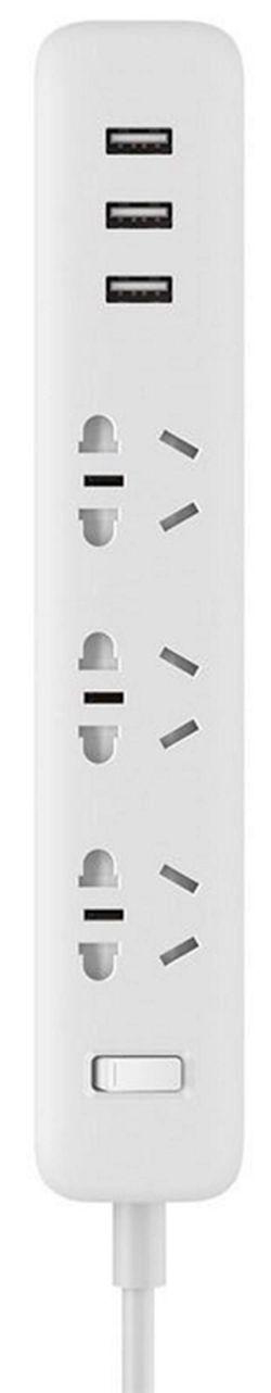 cumpără Prelungitor electric Xiaomi Mi Power Strip 3 USB 27W Fast în Chișinău
