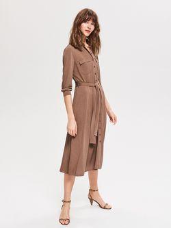 Платье RESERVED Темно бежевый vf822-08x