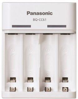 купить Зарядное устройство для аккумуляторов Panasonic BQ-CC61USB в Кишинёве