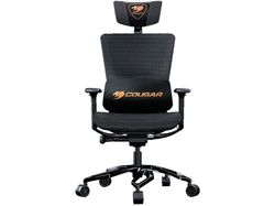 Gaming Chair Cougar ARGO Black, User max load up to 150kg / height 160-190cm