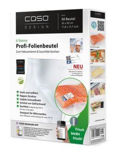 купить Вакуумный пакет Caso 01220 Set 30x40сm, 50pcs в Кишинёве