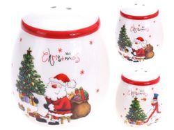Набор рождественский для соли и перца D5cm, H7cm Фигура и ел