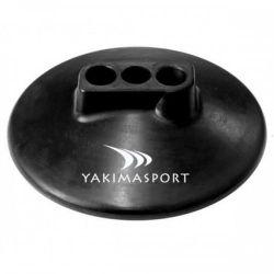 Подставка резиновая под 3 стойки Yakimasport 100162