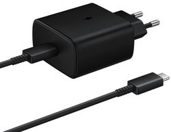 купить Зарядное устройство сетевое Samsung EP-TA845 45W PD Wall Charger Black в Кишинёве