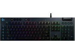 Tastatură pentru jocuri Logitech G815, mecanică, ultra subțire, GL tactilă, RGB, chei G, control media, USB
