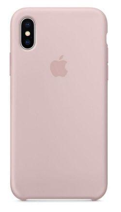 cumpără Husă pentru smartphone Helmet iPhone X/XS, Pink Liquid Silicone Case în Chișinău