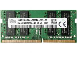 16GB DDR4- 3200MHz  SODIMM Hynix Original PC25600, CL22, 260pin DIMM 1.2V