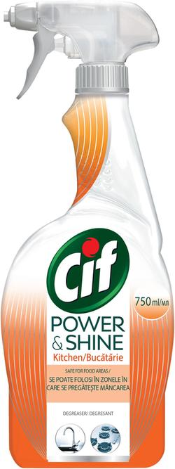 Spray degresant Cif Power&Shine, 750 ml