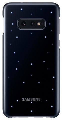 купить Чехол для смартфона Samsung EF-KG970 LED Cover S10e Black в Кишинёве