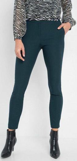 Pantaloni ORSAY Verde inchis 390203 orsay