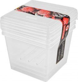 Set caserole congelator 3 pc  1 L