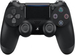 cumpără Joystick-uri pentru jocuri pe calculator PlayStation Dualshock 4 V2 Jet Black în Chișinău