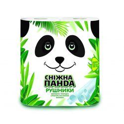 Бумажные полотенца Panda  2 рулона