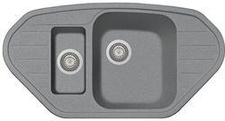 купить Мойка кухонная Plados SP0981 SPAZIO Ultrametal в Кишинёве