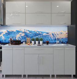 Кухонный гарнитур Bafimob Modern (High Gloss) 1.8m no glass Beige