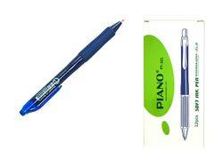 Ручка гелевая PT-301 soft ink,0.7mm, синяя