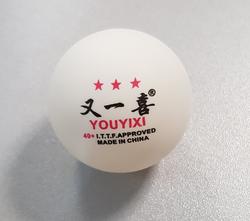 Мяч для настольного тенниса ITTF white (1901)